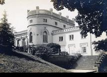 Historie krčského zámku - historické fotografie